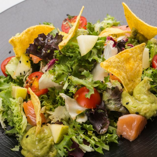 Aunt Guadalupe´s salmon salad